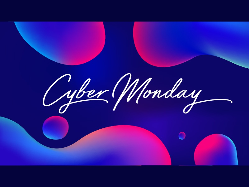 Cyber Monday Sale Illustration campaign ad campaign promo advertisement ad banner design poster banner black friday sale cyber monday vector design illustration