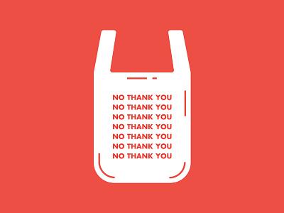 Plastic Free Motivation Posters. concept minimal design vector illustration flat bag social poster thank you no free campaign straw plastic bag plastic