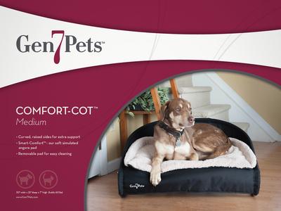 Gen7Pets Comfort-Cot Packaging
