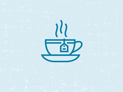 Tea Icon tea icon tea cup logo recruiting drink tea