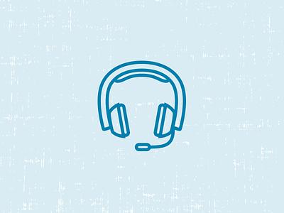 Headset Icon headset microphone headphones icon sound phone hoopla recruiting