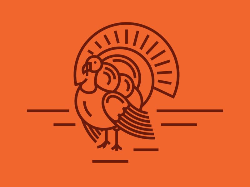 Turkey Illustration jon pope indelible design lines illustration thankful thanksgiving card card icon indelible cards thanksgiving turkey