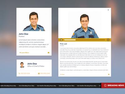 Police Department UI Elements WIP