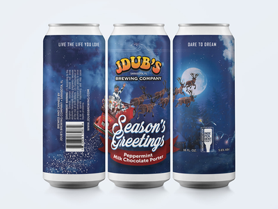Season's Greetings Craft Beer Packaging