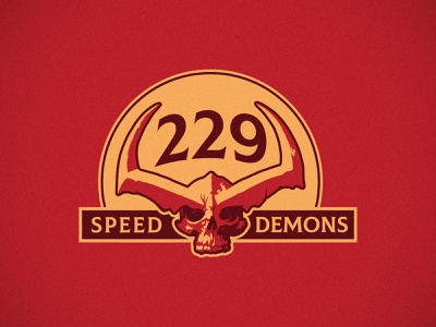 Speed Demons georgia valdosta car club ragnarok surtur skull illustration speed demon