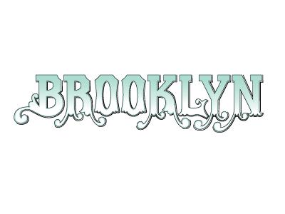 Brooklyn brooklyn lettering