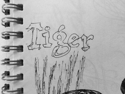 Tiger lettering