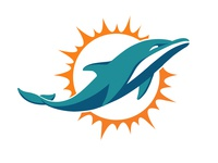 Dolphins Logo Vectorized