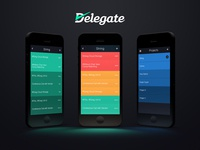Delegate - Final Designs