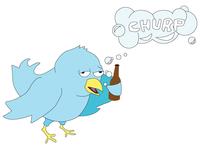 Twitter Bird Parody