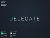 Delegate Brand Guidelines