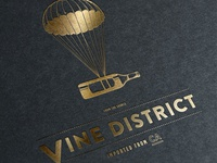Vine District - Packaging Logo