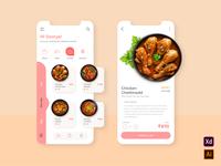 Food App userexperience userinterface mobieappdesign mobile app userinterfacedesign foodapp uxdesign uidesign uiux ux ui