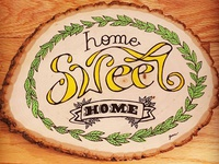 Woodart home sweet home