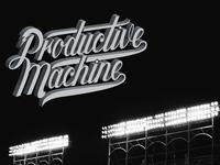 Productive Machine 3D Script
