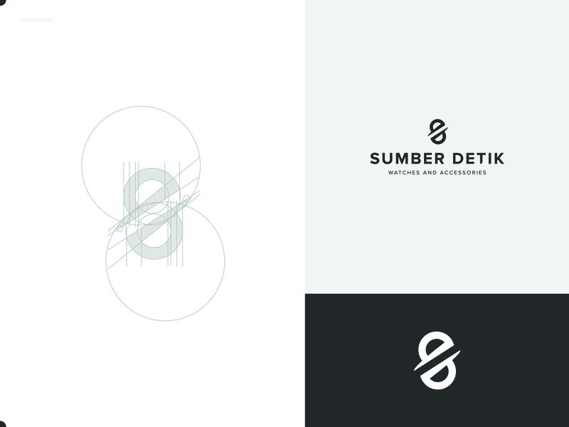 Sumber Detik businesslogo business vector ui flatdesign label logogram logotype logomark logonew logoplace logo branding brand designgraphic graphic design