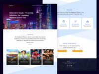 Initial Landing Page Concept - Investment Platform