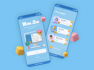 Workgroup communication applications work process application app design app web design concept design concept ui figma