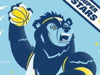 Grizz Trading Card