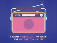 ELEL on SiriusXM Alt Nation