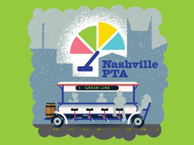 Nashville Scene. Pedal Tavern Authority