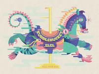 Rubblebucket & ELEL Tour Poster