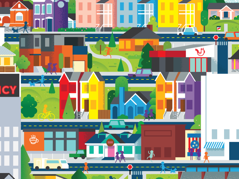 Nashville Neighborhoods landscape shop magazine spring building city house neighborhood nashville