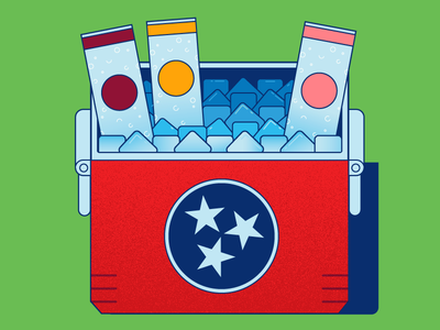 Summer Sneak relax picnic flag outdoors ice tristar refreshment chill tennessee cooler summer southern