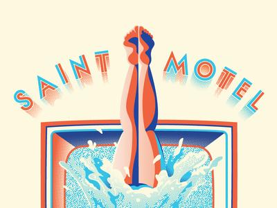 Saintmotelevision Tour