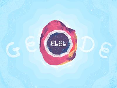 ELEL - Geode LP band geode album cover mompop music indie pop packaging vinyl record music album art elel