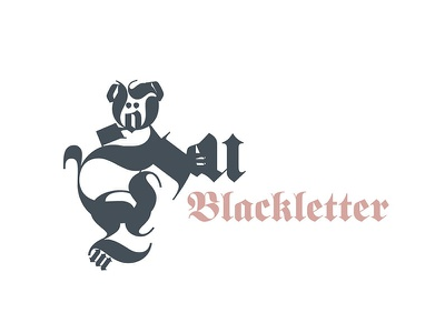 blackletter typography fonts classification