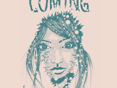 Winter is Coming illustration lineart