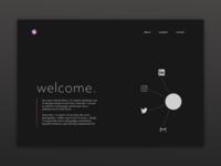 Personal Homepage Prototype