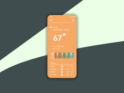 second sky weather - ui 4