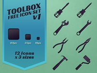Toolbox Icon Set