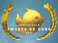 'Tweets de Ouro' logo - opening titles