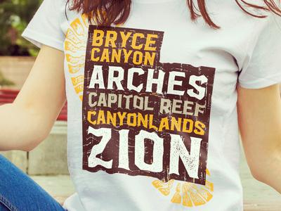 Utah Big 5 Shirts