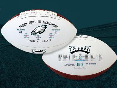 Super Bowl LII Championship - Philadelphia Eagles