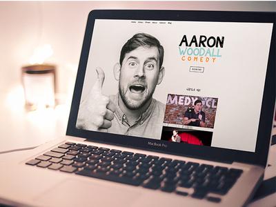Aaron Woodall Website