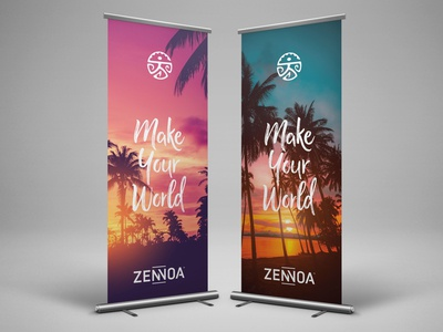Zennoa Make Your World Banners