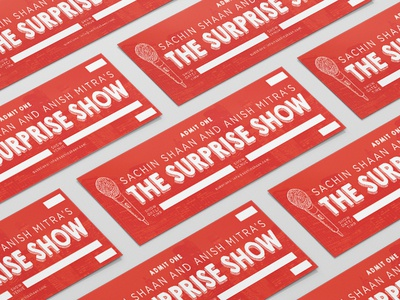 The Surprise Show Ticket