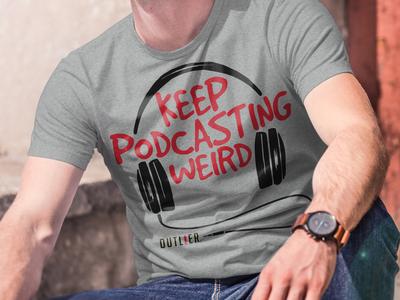Outlier Podcast Festival T-shirt