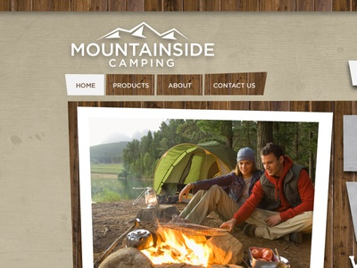 Moutainside Camping site