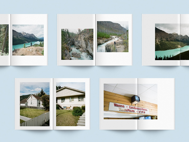 Wild Rose Country alberta film photography editorial layout zine