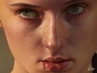 Sansa - Game of Thrones Painting