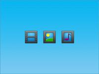 48px Media Icons