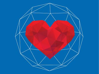 Design Love design love geometric fractal