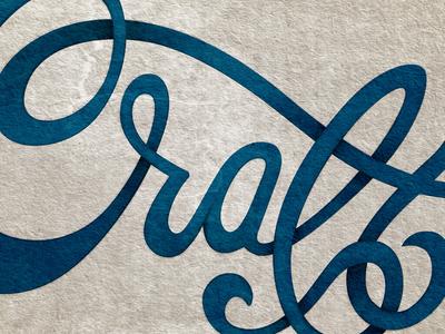 Craft hand type script