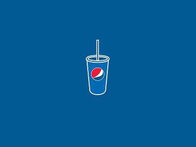Pepsi Love icon illustration
