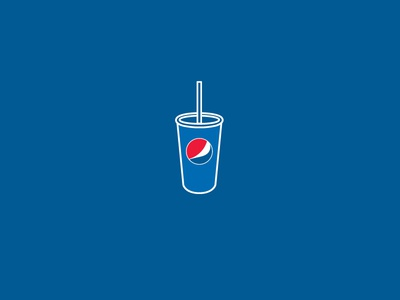 Pepsi Love icon illustration